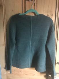 Wool Jigsaw jumper - XS, but more like size 10