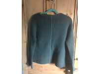 Wool Jigsaw jumper - XS, but more like size 10