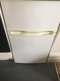 Compact under counter fridge freezer