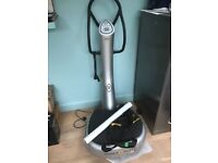 Power Plate My5 Silver with accessories. Privately owned in good condition.