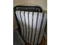 Jay-be fold up guest bed camping bed single bed