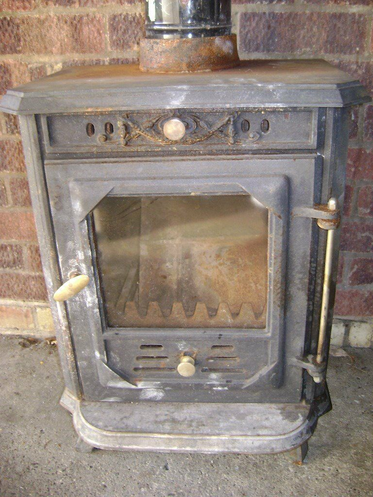 wood burner working order very ornatein Rayleigh, EssexGumtree - wood burner. cast iron, very ornate with baker embossed into the sides. removed from a family members home. complete and in working order. door handle is a little loose but works fine. had many a cold night warming by this. comes with 2 x 400mil cans...