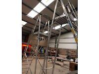 Zarges Platform ladder