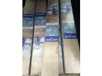 Quick Step Aquanto. Classic Oak Beige Laminate Flooring