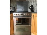 Stoves (Sterling) Gas Cooker, 4 ring hob, grill, oven, 1yr old