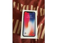Apple IPhone X 256GB Space Grey Empty Box Only
