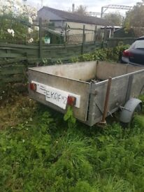 6 and 1/2 ft by 4 ft trailer