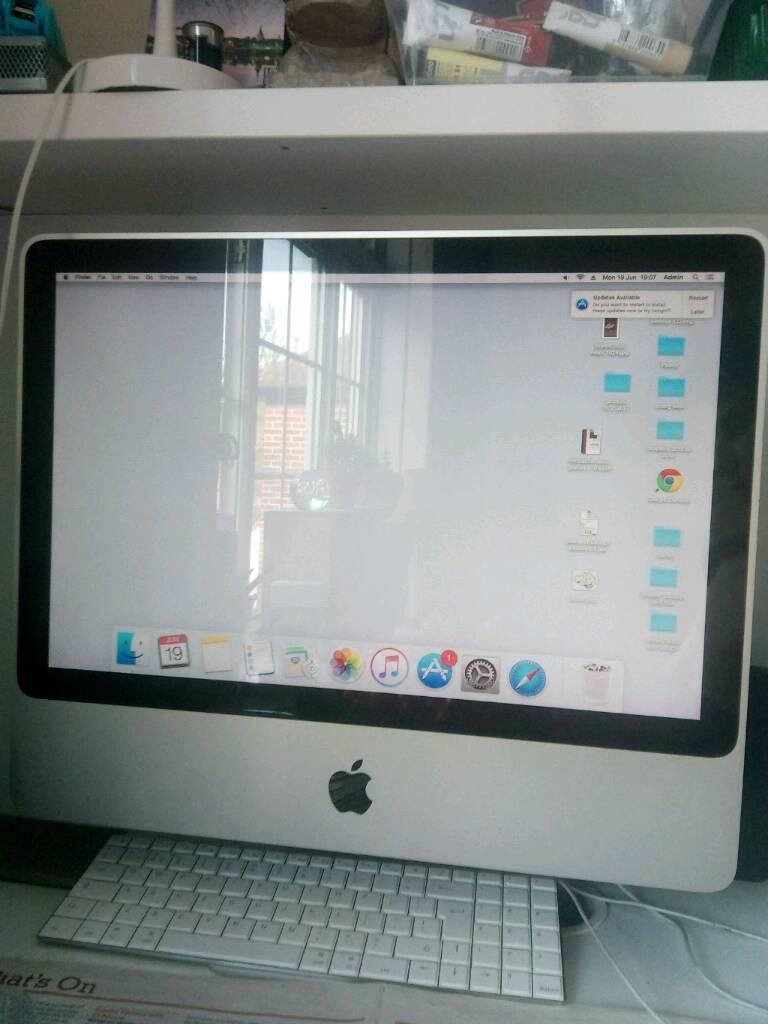 Imac (20inch, Early 2009in Chingford, LondonGumtree - IMac (20 inch, Early 2009)1080p displayProcessor/CPU 2.66 GHz Intel core 2 duoMemory 2 GB 1067 MHz DDR3graphics/GPU Nvidia GeForce 9400 256 mbMouse and keyboard are not includedStill in good condition