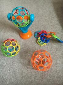 O ball items