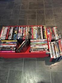 70 plus DVD's £30 the lot
