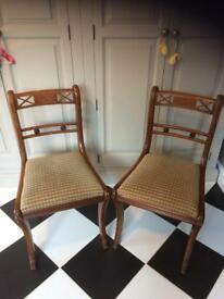 2 x vintage chairs