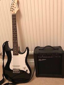 Elevation Guitar and Rockburn Amp