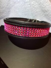 Real Leather Hand Made Dog Collar