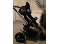 Quinny pram and carrycot