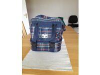 Welkin Tartan Pattern Lawn Bowls Bag - Excellent Condition
