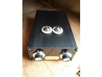 MCP Audio Valve Pre-Amp (3-input, custom build). New.