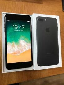 MINT Apple iPhone 7 Plus 128GB SIMFREE Matte Black