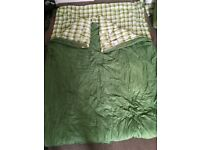 Vango Aurora Double Sleeping bag in good condition - has been dry cleaned