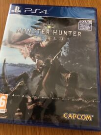 Monster Hunter World PS4 Game New/Sealed UK PAL