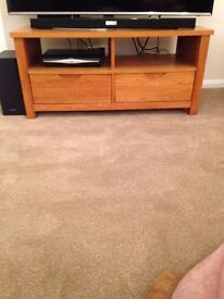 TV CABINET/BOOKCASE/NEST OF TABLES/COFFEE TABLE ALL MATCHING/ SOLID WOOD