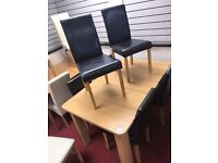 Extendable Table and 6 Midback Chairs