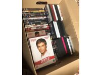 Box of DVD's for Sale
