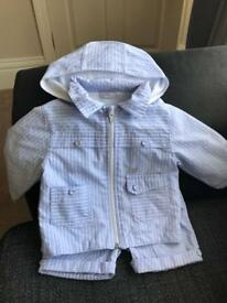 3 piece boys 3-6m outfit.