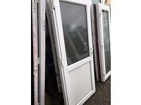 Recycled Upvc Kitchen Door / Back Door (930 x 2120) £120