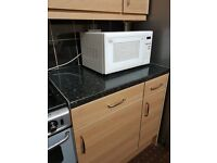 Compete kitchen like new with appliances wall units & base units