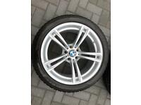 Genuine BMW F10 M5 winter wheels and tyres