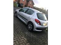 Peugeot 207 1.4 S 5dr with AIR CON 12 MONTHS MOT