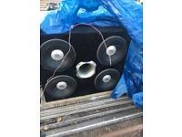 Jbl subwoofer x4 Sub Bass Amplifier box