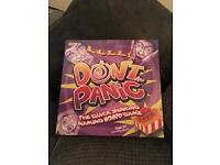 Board game - don't panic