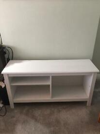 IKEA Brusali TV Bench White 120x62x36cm