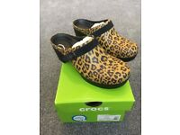 100% Authentic Ladies Croc shoes clogs size UK 4 37 New in box
