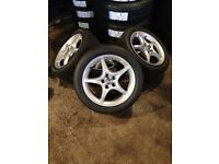 Toyota Celica Alloy Wheels Just Refurbished