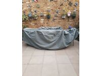 Deluxe Extra Large Oval Patio Set Cover