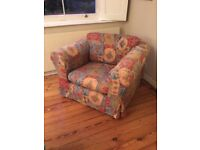 Low back armchair for sale