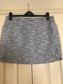 TOPSHOP Size 14 Mini Skirt with Tags