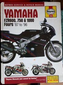 Haynes yamaha fzr manual