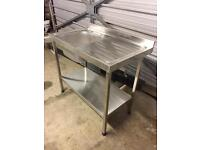 stainless steel sink - freestanding