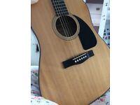 Acoustic Fender Guitar model: CD-60 NAT-DS-V2