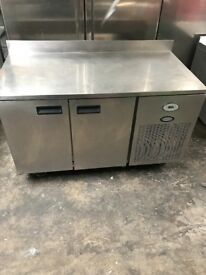 Foster two doors bench fridge, under counter catering fridge