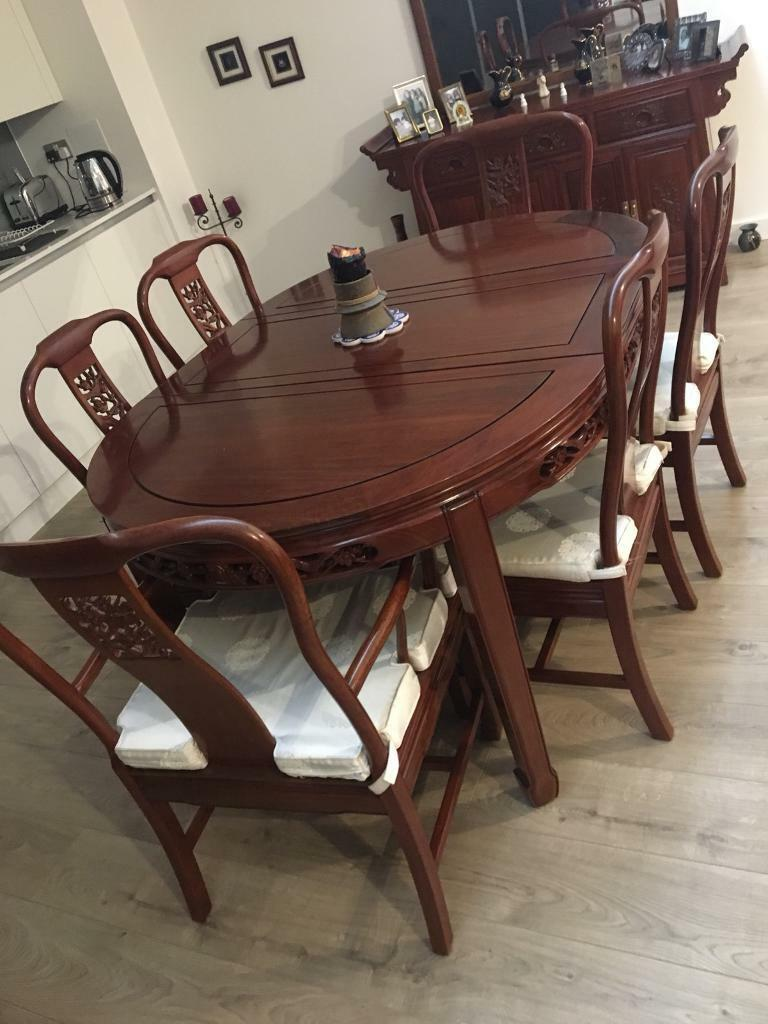 8 Seater Antique Dining Table For Sale