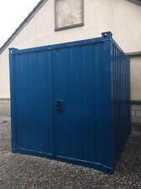 10ft x 8ft storage container to rent in Elgin, Moray