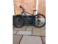 """Cube bike 27.5"""" frame 24"""" wheels"""