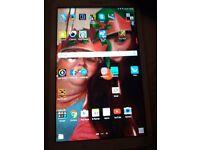 samsung galaxt tab e clean screen no cracks bran new
