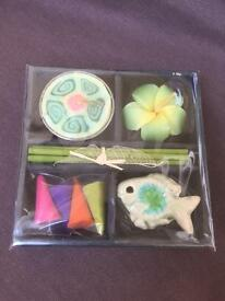 Small Incense burner gift set