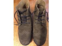 BEAUTIFUL FLY MEN'S BOOTS, MOSS GREEN SUADE, SIZE 41