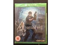 Resident Evil 4 Xbox one - NEW